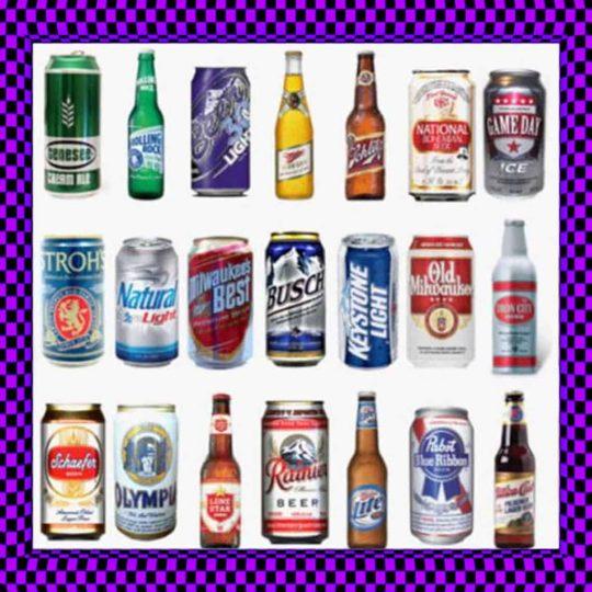 Bottled & Canned Beverages