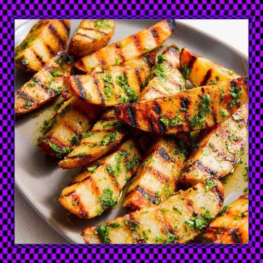 Grilled Russet Potatoes