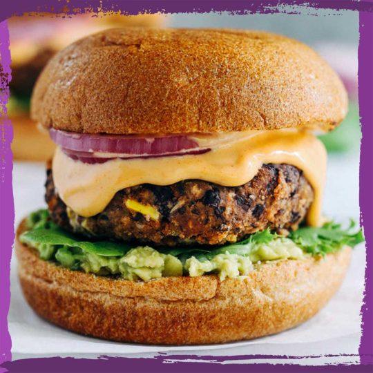 Black Bean Burger 🍃